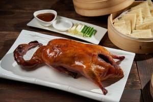 天成飯店集團 世貿國際會館-翠庭 明爐烤鴨三吃